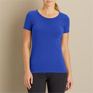 8c3d32ed Women's No-Yank Short Sleeve Scoop Neck T-Shirt | Duluth Trading Company