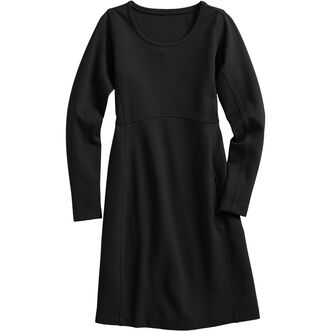 Women's Wearwithall Ponte Knit Long Sleeve Dress B