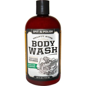 Spit & Polish Walnut Scrub 16-oz. Body Wash