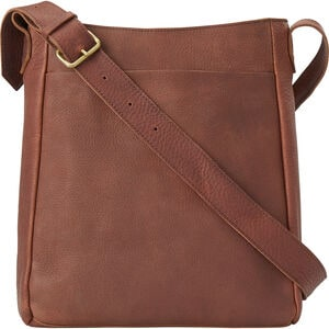 Lifetime Leather Crossbody Bag