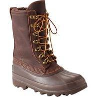 Women's Slop Stopper Leather Boots BROWN 6.5 MED