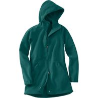 Women's Plus Shoreline Fleece Windproof Parka KNGF