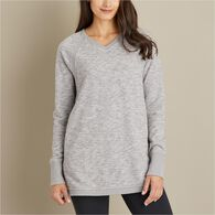 Woman's Ooh-La-Loop French Terry V-Neck Tunic ELDR
