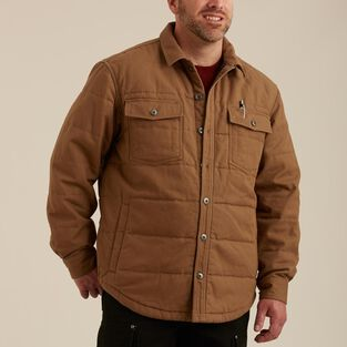 Men's Superior Fire Hose Quilted Shirt Jac