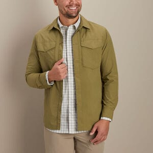 Men's AKHG Recycled Galebreak Standard Fit Overshirt
