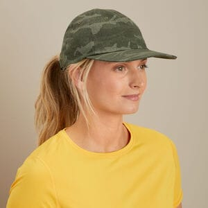 Women's Denim Camo Cap