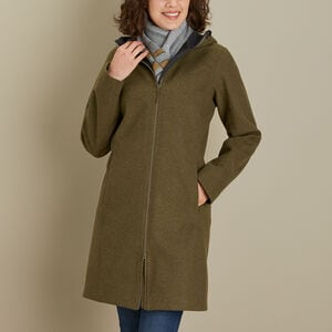 Women's Empire Builder Wool Coat