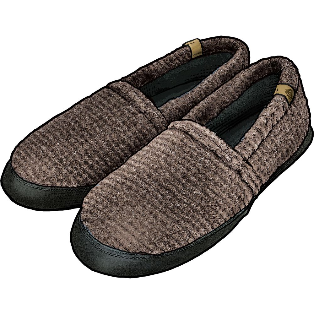 Men S Acorn Moccasin Slippers Duluth Trading Company