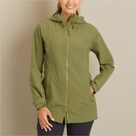 Women's Dryfecta Rain Coat BLACK LRG