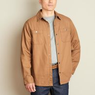 Men's Fire Hose Flannel-Lined Limber Jac BROWN MED