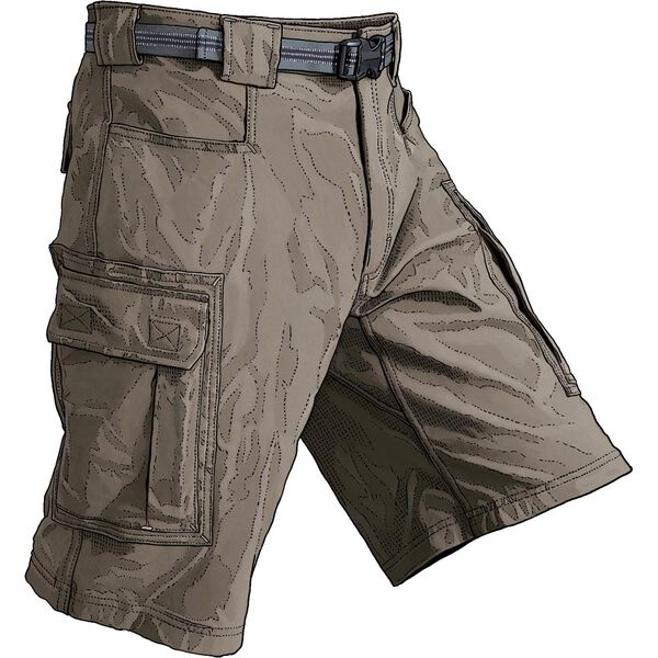 Men's DuluthFlex Dry on the Fly 11'' Cargo Shorts