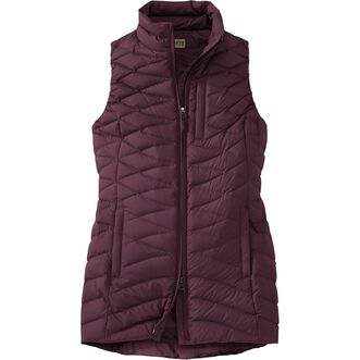 Women's Cold Faithful Down Tunic Vest ELDRBRY XSM