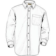 Men's Class Act Solid Relaxed Fit Long Sleeve Shirt