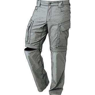 bfe729ce Men's DuluthFlex Dry on the Fly Convertible Cargo Pants | Duluth Trading  Company