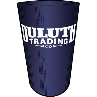 Duluth Trading Silicone Pint Glass DRKBLUE