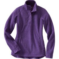 Women's Frost Lake Fleece Pullover DKPHTHR XSM