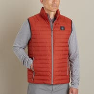 Men's Alaskan Hardgear Puffin Vest ORANGE CEDAR X-