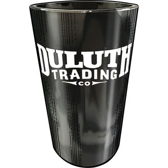 Duluth Trading Silicone Pint Glass BLKMLTI