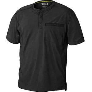 Men's TradeTek Drirelease Short Sleeve Henley