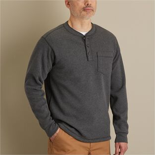 Men's Burly Thermal Sherpa-Lined Henley