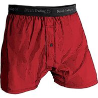 Men's Buck Naked Performance Boxers CLASRED MED