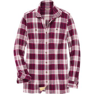 women s free swingin flannel shirt duluth trading company