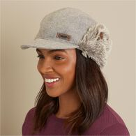Women's Fair Isle Ear Flap Hat GRAMULT SM
