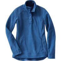 Women's Frost Lake Fleece Pullover DBLHTHR MED