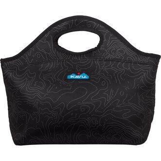 Kavu Luncheon Lunchbox BLKPRNT