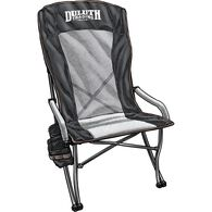 Paul Bunyan's High Back Lawn Chair BLACK