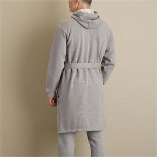 Men S Souped Up Sweats Ss Hooded Robe