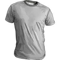 Men's Free Range Cotton Crew Undershirt PEWTER SM