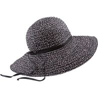 Women's Packable Pattern Sun Hat BLKFLRL L/XL