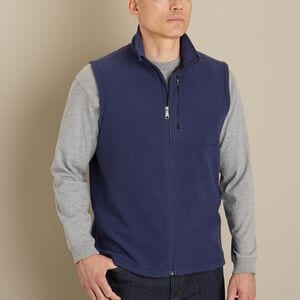 Men's Silver Bay Full Zip Vest