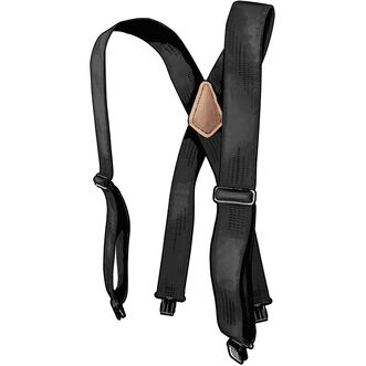 Men's Duluth Trading Logo Suspenders BLACK