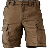 Men's Fire Hose 10'' Cargo Shorts BROWN 032