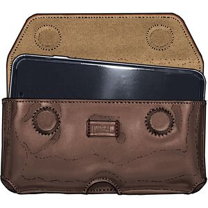 Extra-Large Quick-Draw Leather Smartphone Holster