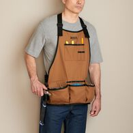 Fire Hose Bib Work Apron BROWN