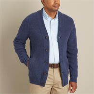 Men's Burly Retirement Shawl Collar Cardigan SBLHT
