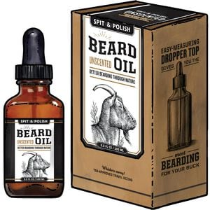 Spit & Polish Unscented Beard Oil