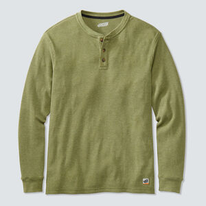 Men's 40 Grit Thermal Henley Shirt
