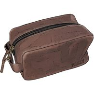 Leather Necessaries Bag BROWN