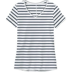 Women's Plus Lightweight Longtail T V-Neck