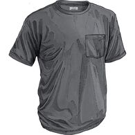 MN Longtail T SS Shirt With Pocket DRKGRAY SM
