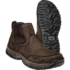 Men's Wild Boar Oiled Leather Boots
