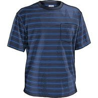 MN Longtail T Short Sleeve Stripe T-Shirt w/Pkt NV