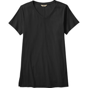 Women's Plus Pima Cotton Willow Knit Short Sleeve Shirt