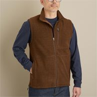 Men's Park Point Fleece Full Zip Vest MIDNBLU SM R