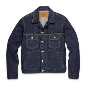 Men's Best Made Selvedge Denim Trucker Jacket