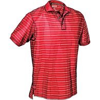 Men's No Polo Short Sleeve Stripe Shirt CRESTRP ME